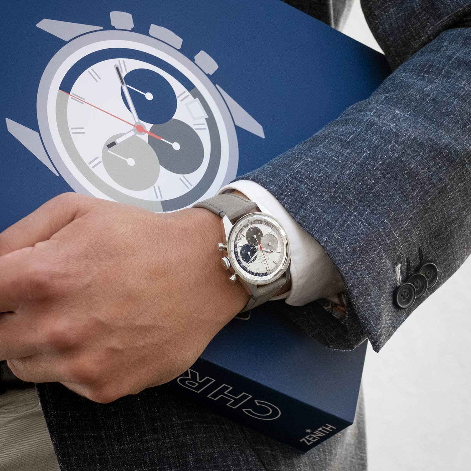 This is the second exclusive piece to emerge from the online boutique, and heralds the latest generation of the game changing El Primero movement.