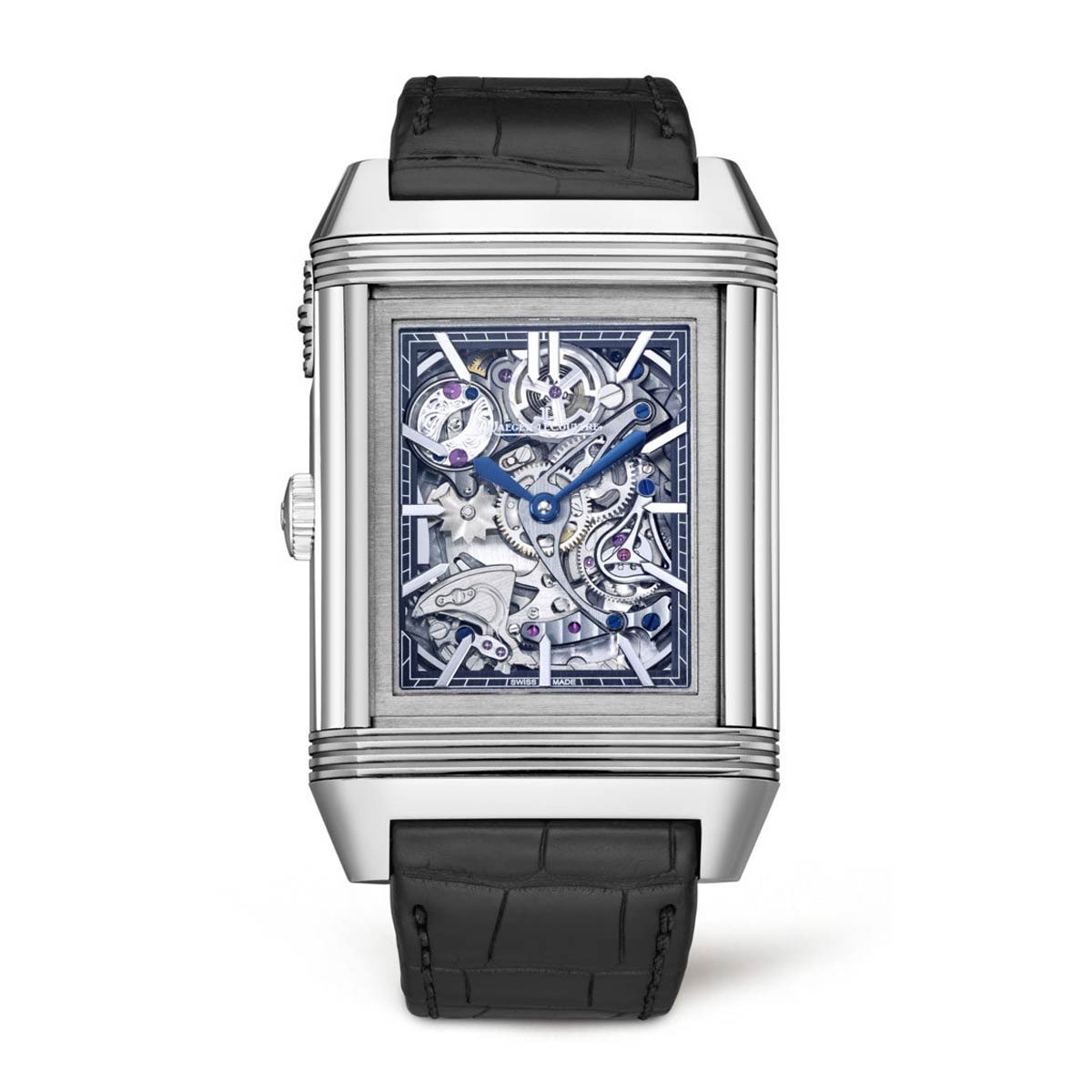 The Reverso Répétition Minutes à Rideau was launched on the Reverso's 80th anniversary in 2011