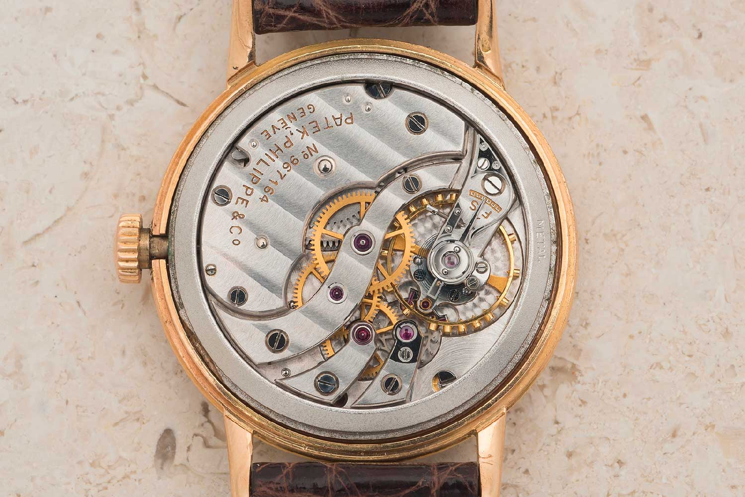 The in-house calibre 12-120 (Image: Bukowskis)
