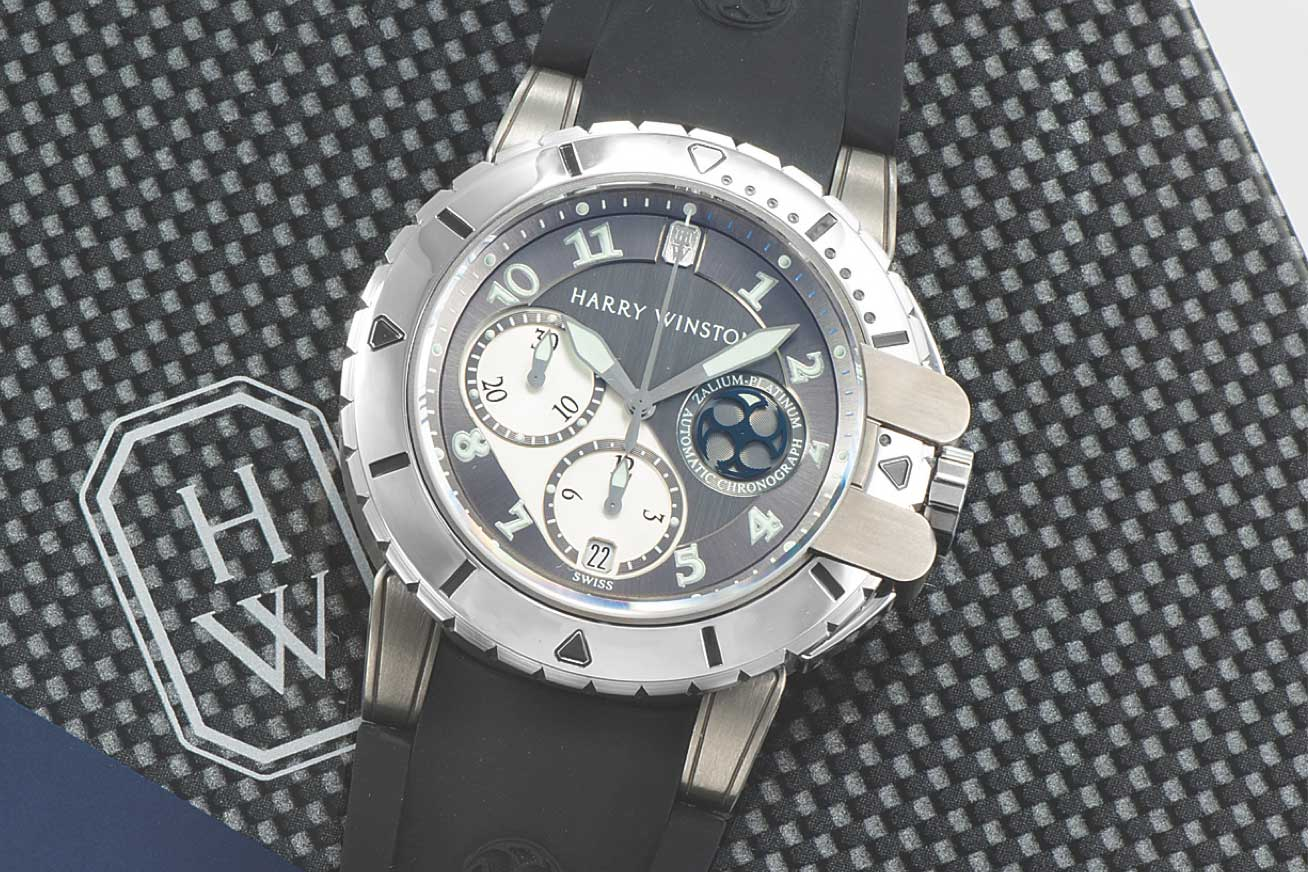 2005: The Project Z2 -limited to 200 pieces (Image: antiquorum.swiss)