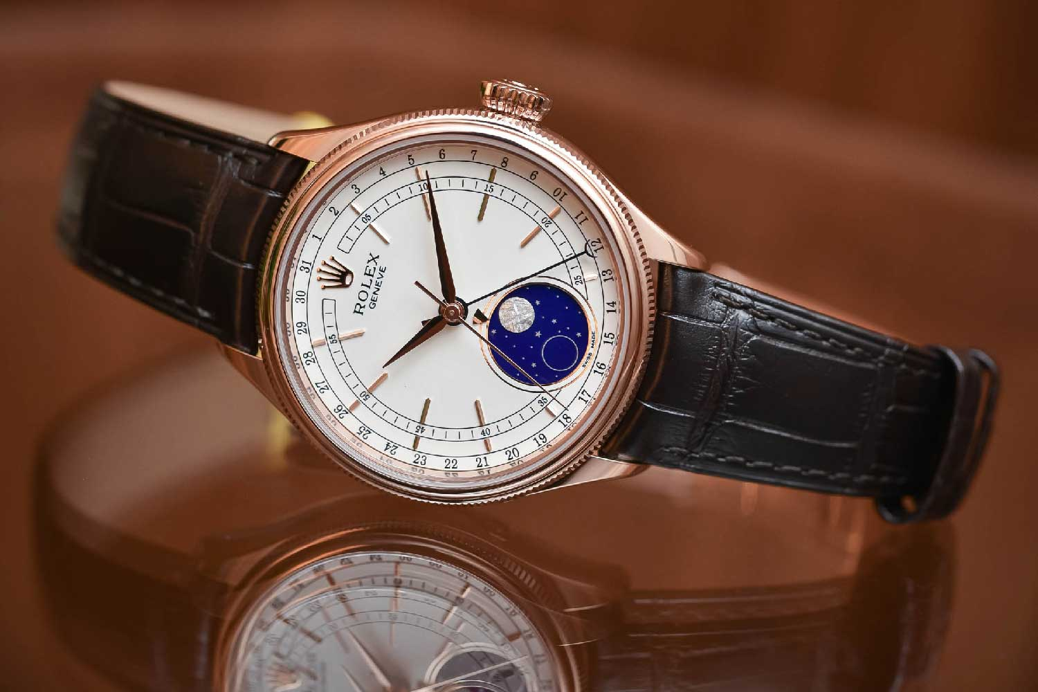 The Rolex Cellini Moonphase Ref. 50535 from 2017