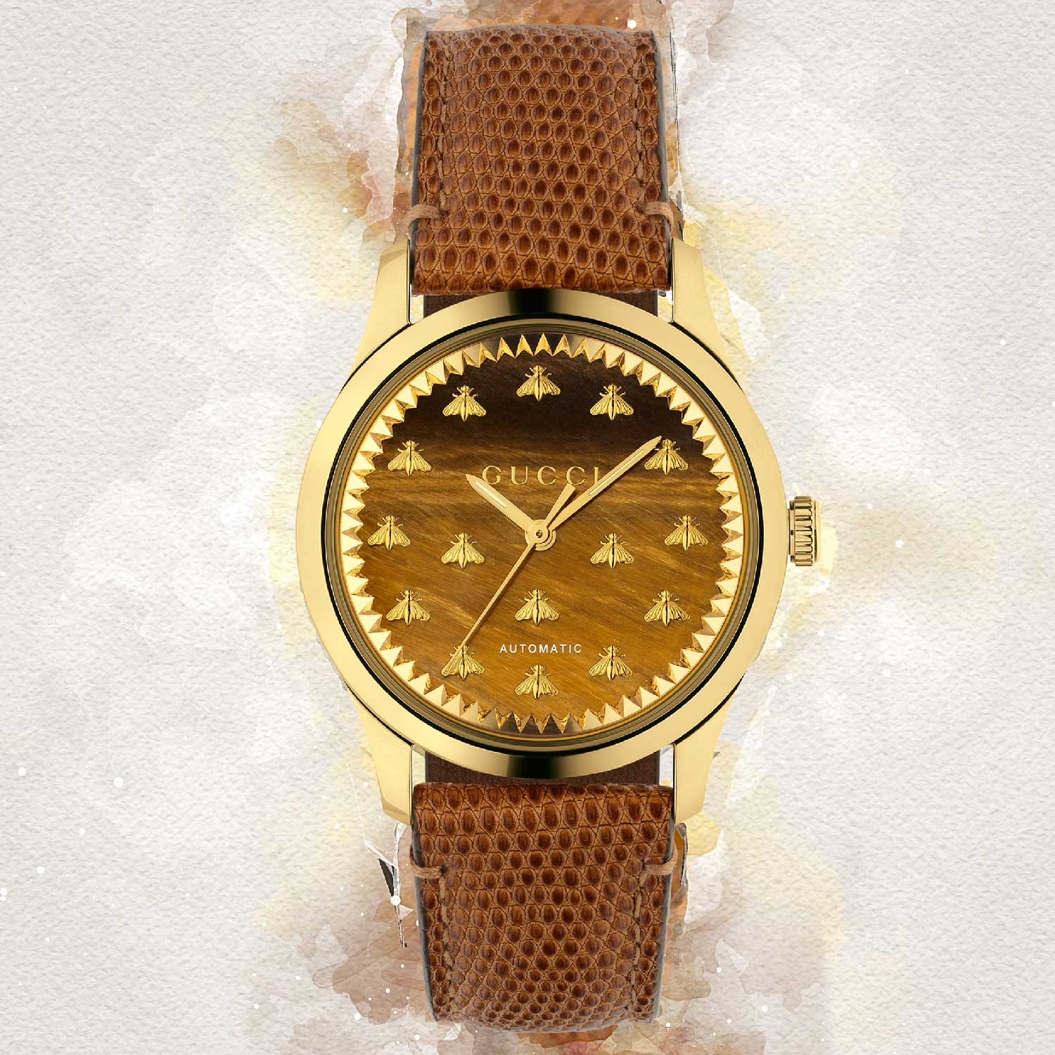G-Timeless Automatic with bee motif