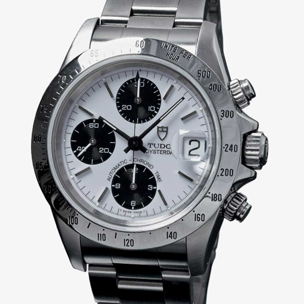 Ref. 79280 Prince Oysterdate with polished steel tachymeter bezel