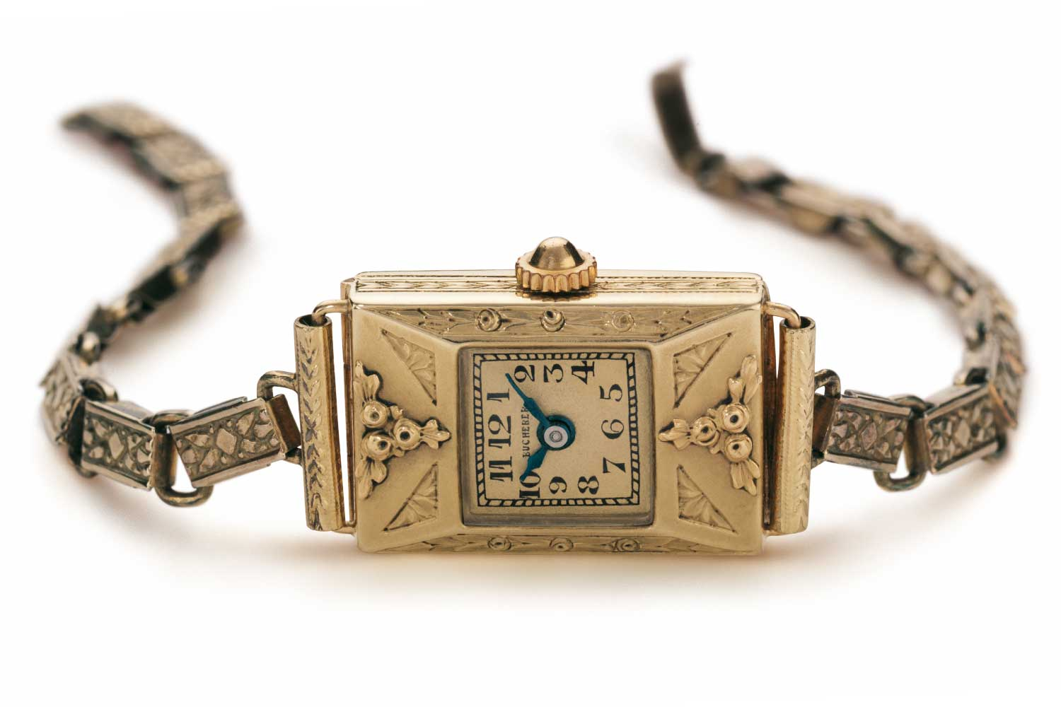 """The iconic """"Grande Dame"""", which was one of the first women's watches in Bucherer's Art Deco style."""