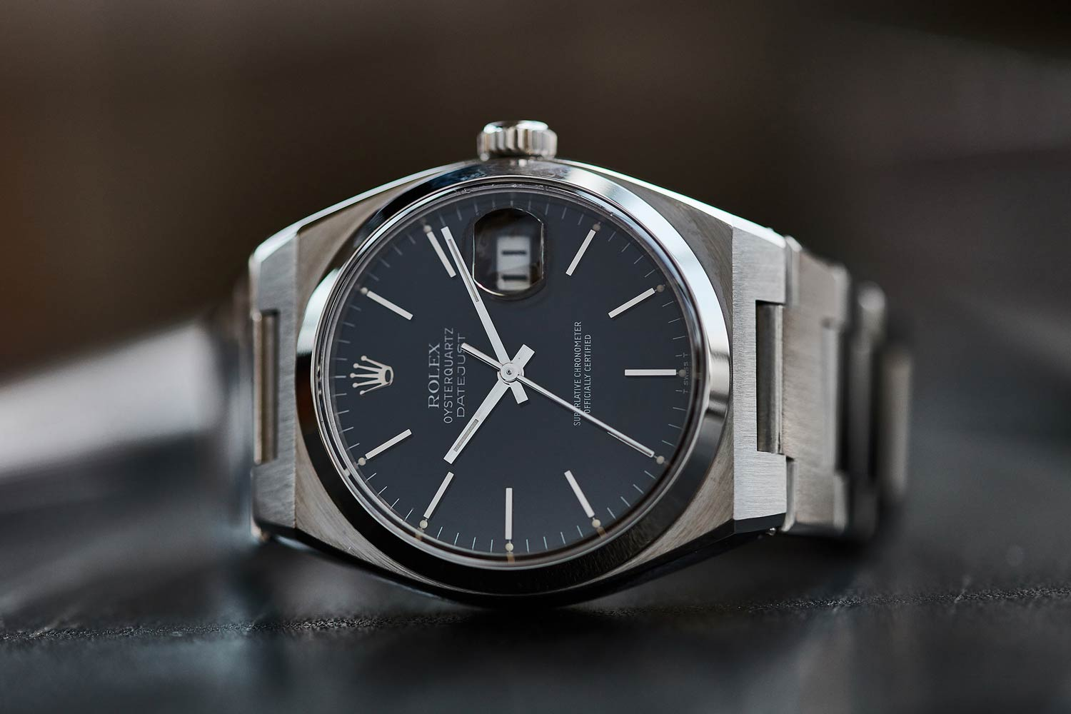 The Rolex Oysterquartz Ref. 17000 watch from the 1980s (Images: A Collected Man)