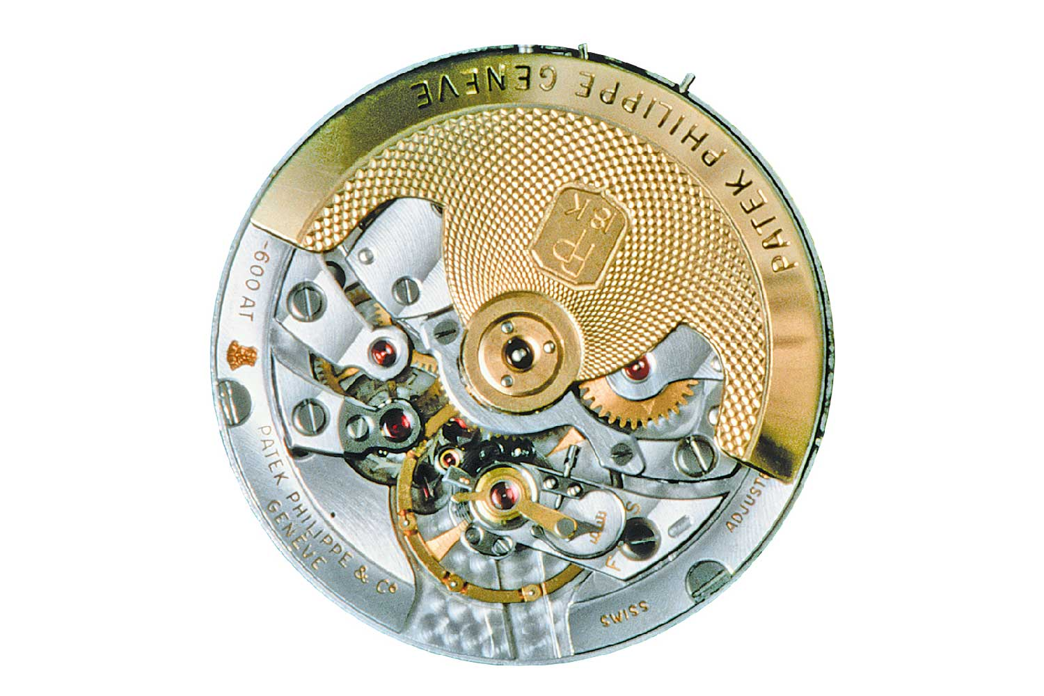 The elaborately constructed calibre 12-600 AT