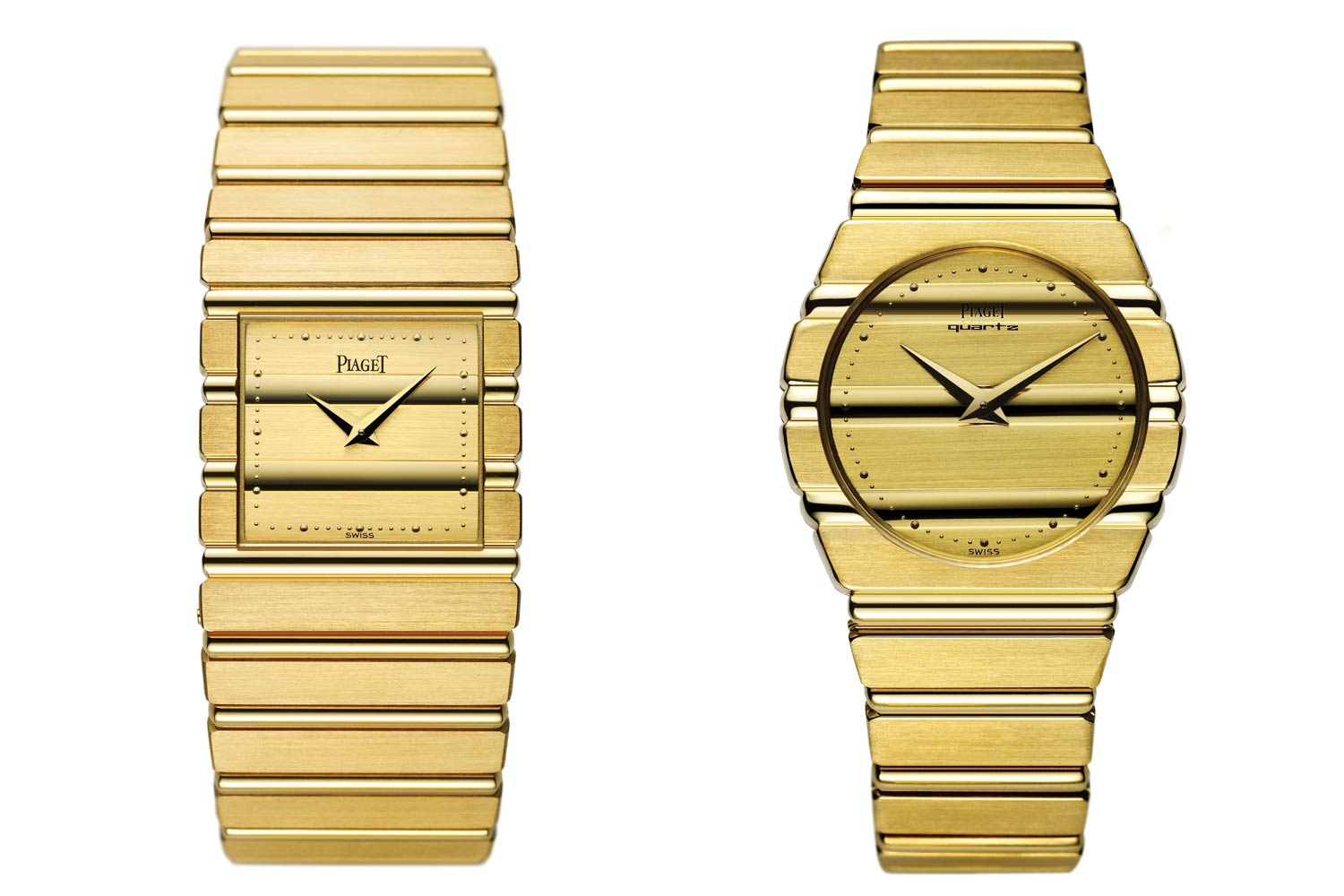 In 1979 Yves G. Piaget unveiled the Polo, a watch that was very much of the time aesthetically with a fully integrated bracelet and named after the sport of kings.