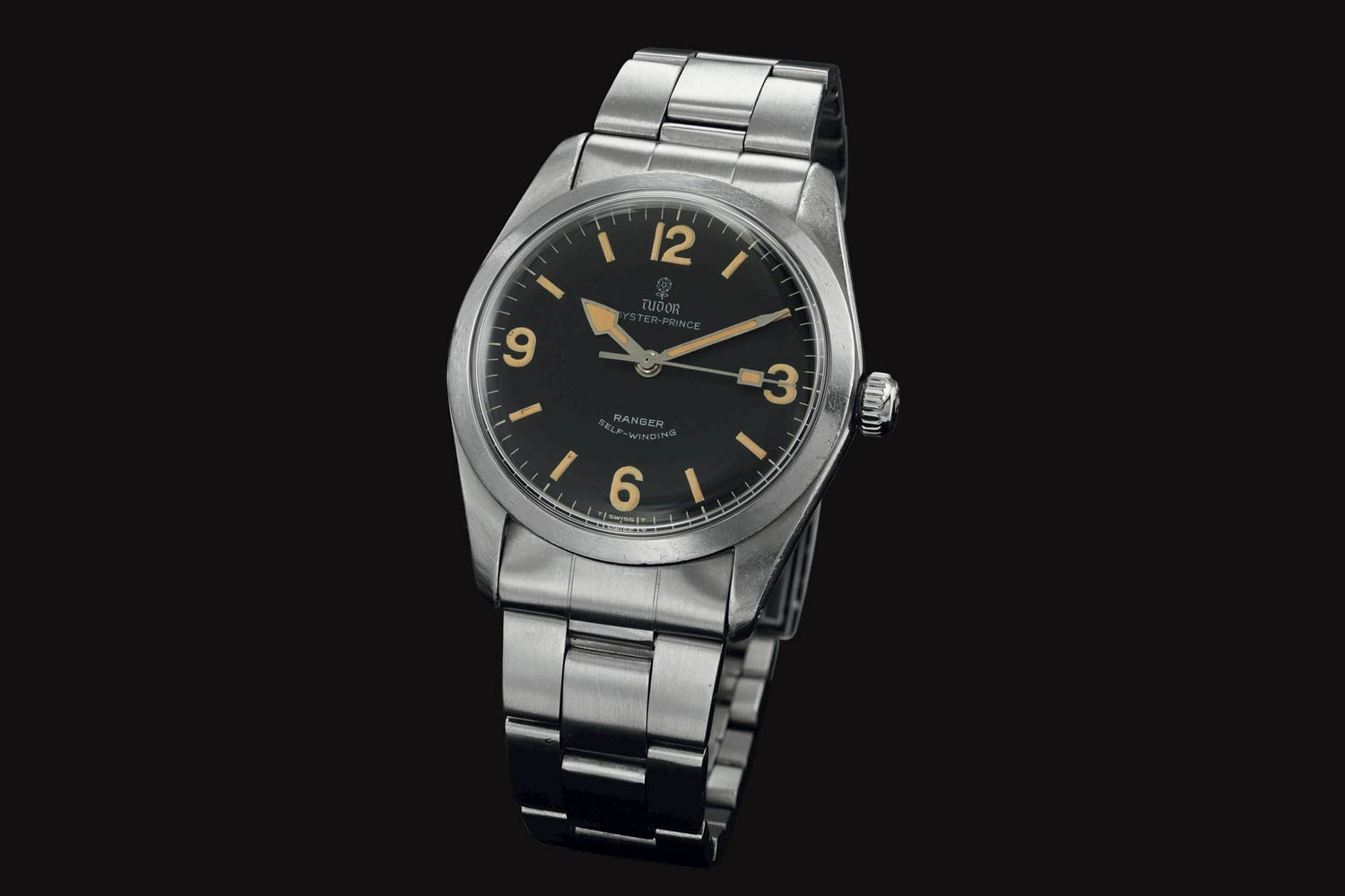 The Tudor Ranger II with an integrated bracelet from 1973