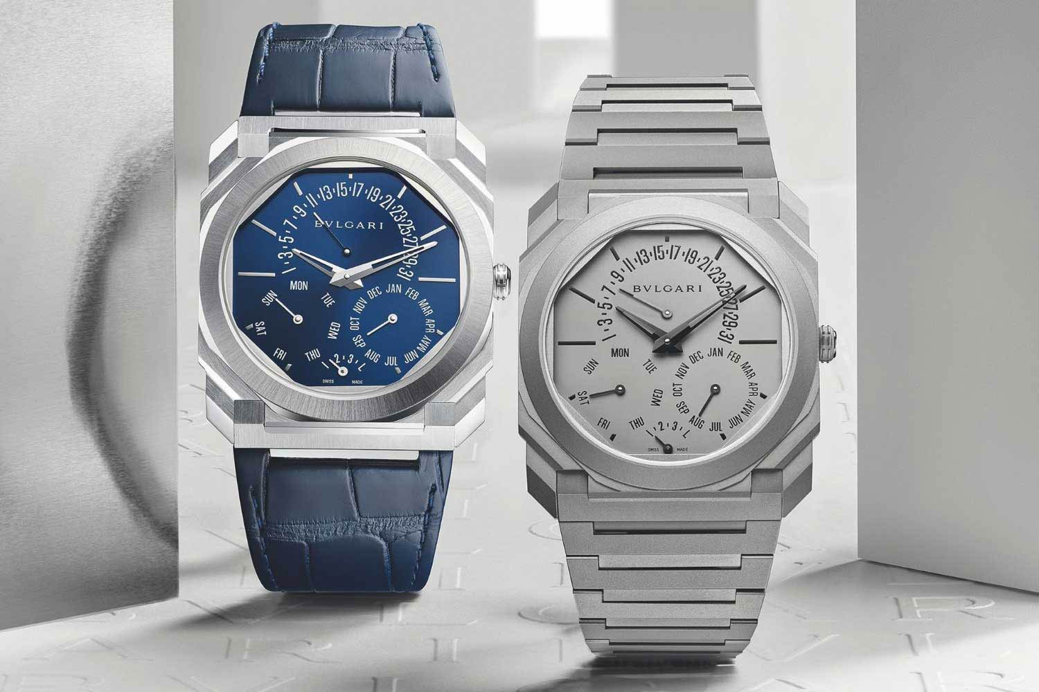 Launched this year, Bvlgari's Octo Finissimo Perpetual Calendar is the world's slimmest automatic watch with perpetual calendar function.