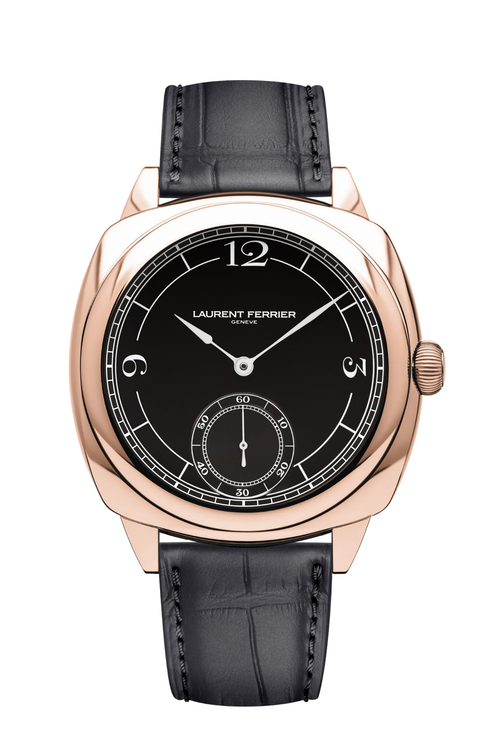 The 2021 Laurent Ferrier Square Micro-Rotor in 18K 5N red gold