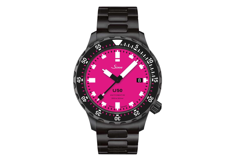 U50 S Pink Dial