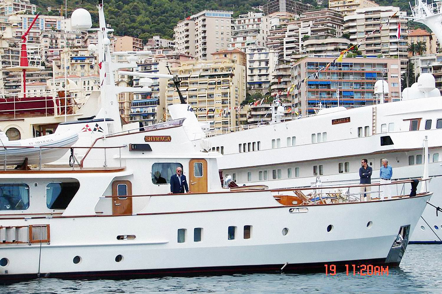Marcello Fratini on his yatch