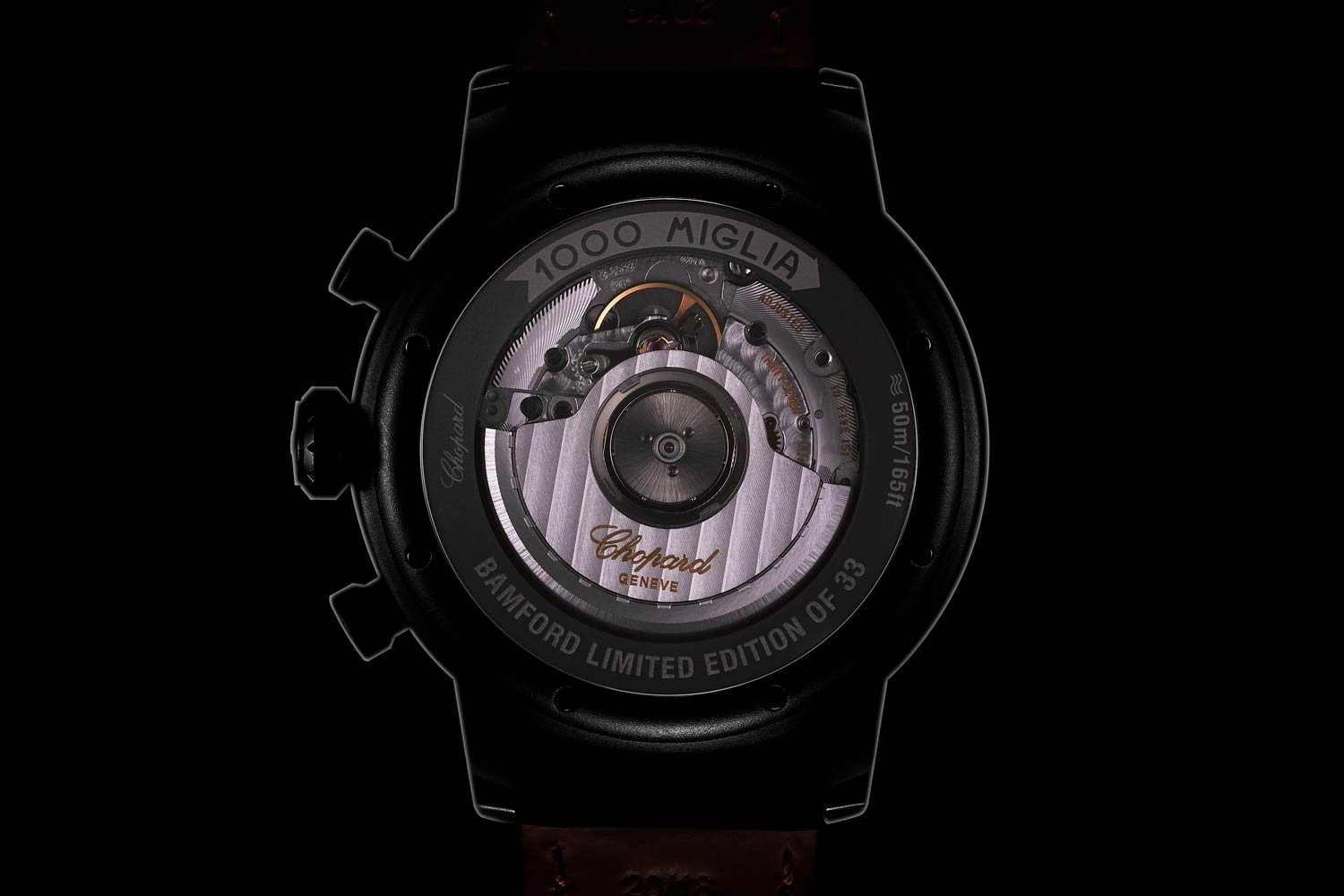 Automatic COSC-rated chronograph with 42-hour power reserve.