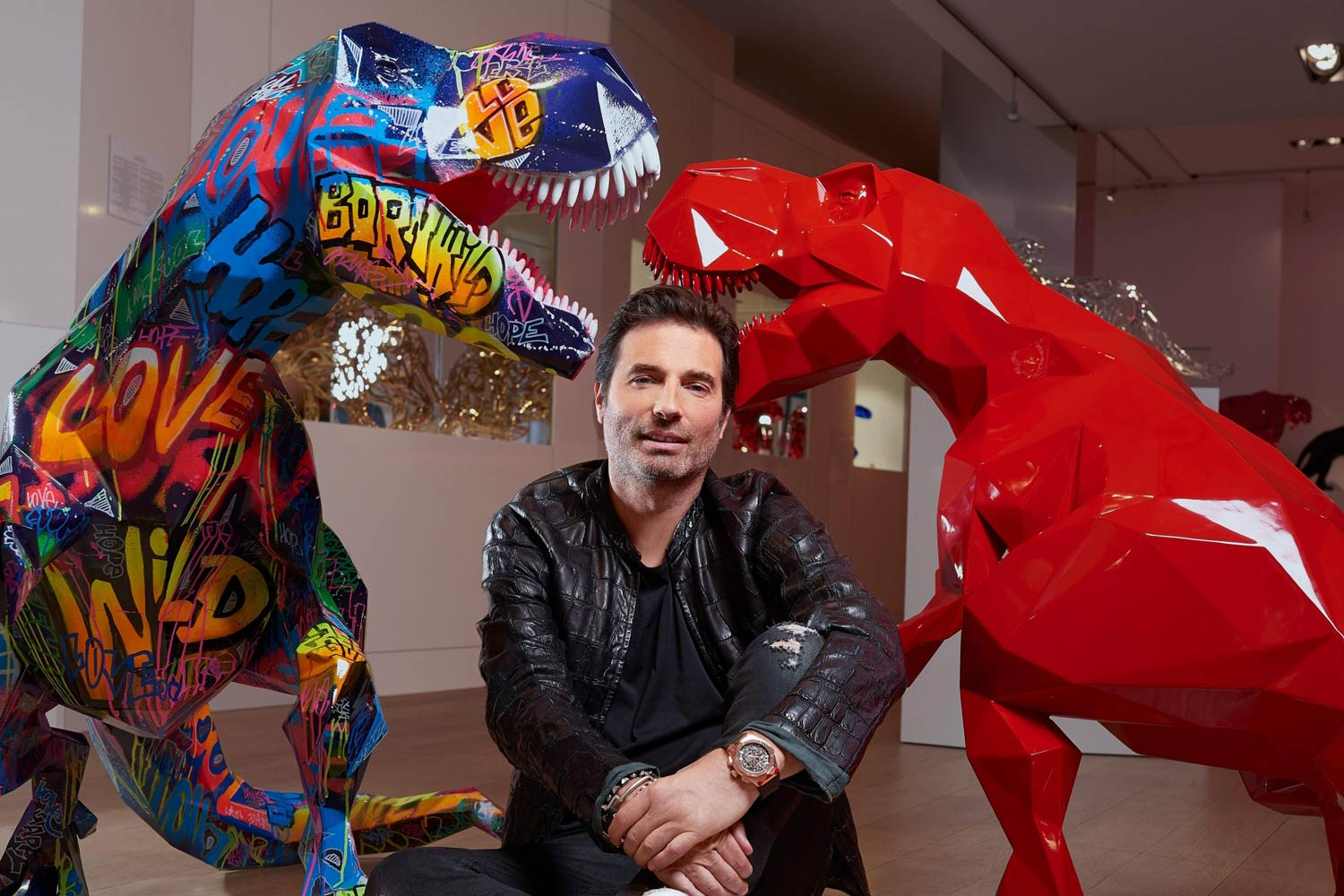 Richard Orlinski, the best-selling French contemporary artist in the world