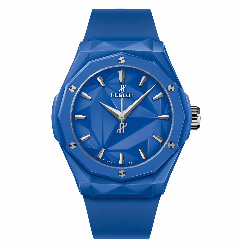 Blue Ceramic, Ref 550.ES.5100.RX.ORL21