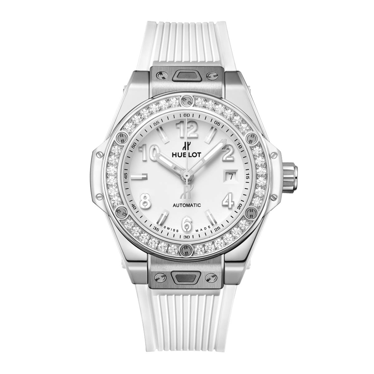 Steel White Diamonds, Ref 485.SE.2010.RW.1204