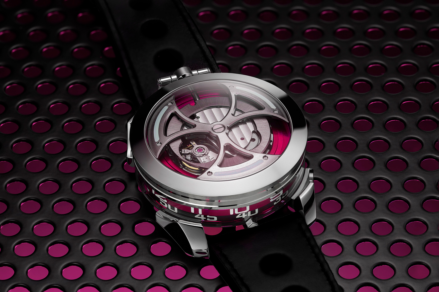 M.A.D.1 Pink Dial Project