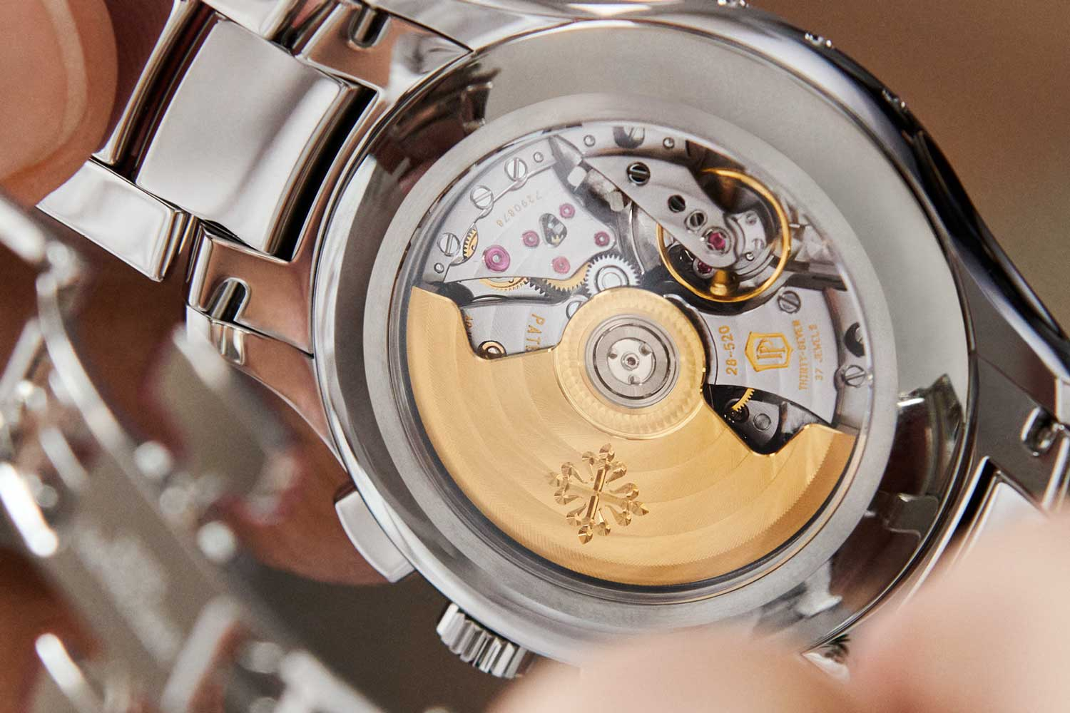 Reference 5905/1A-001 Self-winding Flyback Chronograph with Annual Calendar in stainless steel