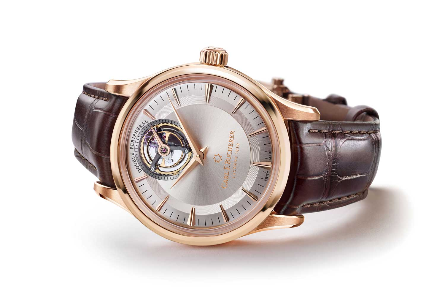 In 2018, the brand surpassed the peripheral technology with the introduction of the Heritage Tourbillon Double Peripheral – Limited Edition