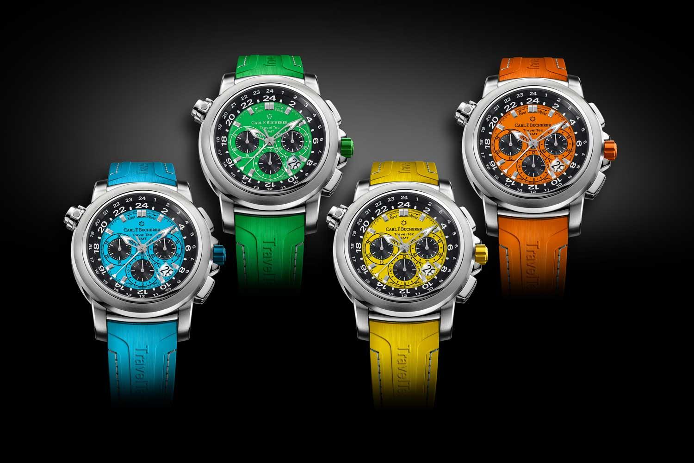 The Patravi TravelTec Color Edition Four Seasons. (KEYSTONE/Carl F. Bucherer)